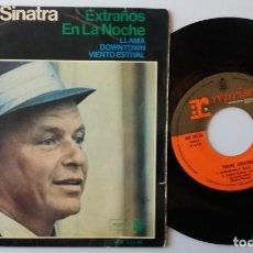 Discos de vinilo: FRANK SINATRA / EXTRAÑOS EN LA NOCHE + 3 / EP 7 INCH. Lote 155989374