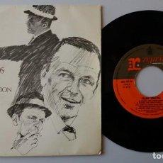Discos de vinilo: FRANK SINATRA / EL MUNDO QUE CONOCIAMOS + 3 / EP 7 INCH. Lote 155989814