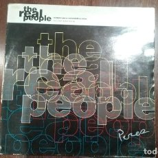 Discos de vinilo: THE REAL PEOPLE-WINDOW PANE EXTENDED VERSION.MAXI. Lote 155992582