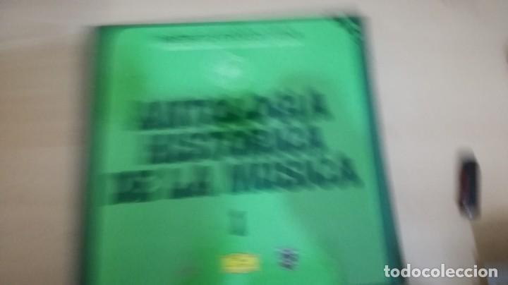 Discos de vinilo: antologia historica de la música - Ministerio de Educación y Ciencia - 2 discos en 2 cajas de 10 - - Foto 2 - 155998454