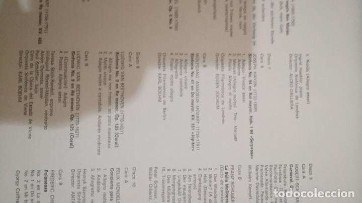 Discos de vinilo: antologia historica de la música - Ministerio de Educación y Ciencia - 2 discos en 2 cajas de 10 - - Foto 11 - 155998454