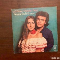 Discos de vinilo: AL BANO Y ROMINA POWER – PRIMERA NOCHE DE AMOR SELLO: CBS – CBS 5777 FORMATO: VINYL, 7 , 45 RPM . Lote 156000926
