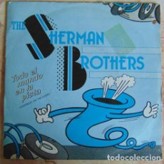 Discos de vinilo: THE SHERMAN BROTHERS – EVERYBODY ON THE FLOOR - SINGLE 1983. Lote 156005594