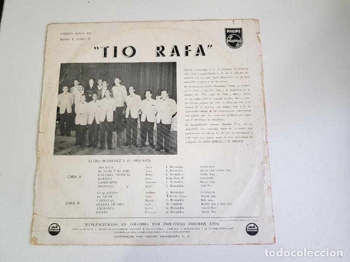 Discos de vinilo: Lucho Bermudez Y Su Orquesta - Tio Rafa (VINILO) - Foto 2 - 156007478