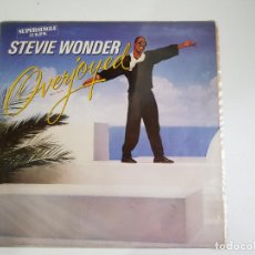 Discos de vinilo: STEVIE WONDER - OVERJOYED (VINILO). Lote 156007850