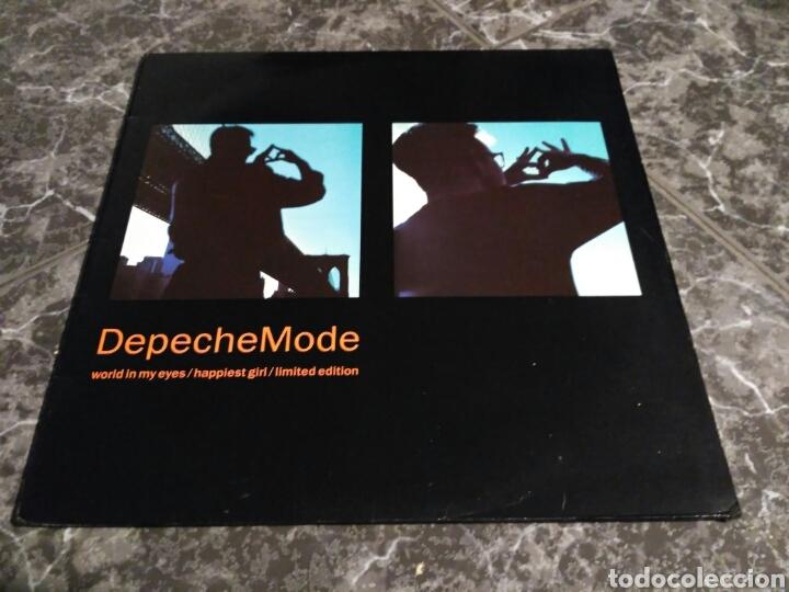 DEPECHE MODE - WORLD IN MY EYES / HAPPIEST GIRL (Música - Discos de Vinilo - Maxi Singles - Pop - Rock Extranjero de los 90 a la actualidad)