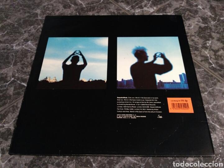 Discos de vinilo: Depeche Mode - World In My Eyes / Happiest Girl - Foto 2 - 156010933