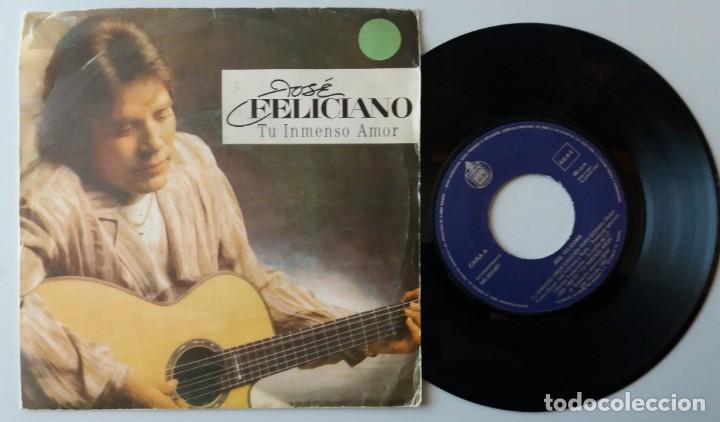 JOSE FELICIANO / TU INMENSO AMOR / SINGLE 7 INCH (Música - Discos de Vinilo - Singles - Pop - Rock Extranjero de los 80)