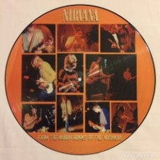 Discos de vinilo: NIRVANA - FROM THE MUDDY BANKS OF THE WISHKAH, PICTURE DISC, ED. LIMITADA, NO-OFICIAL, MÉXICO. Lote 156012749