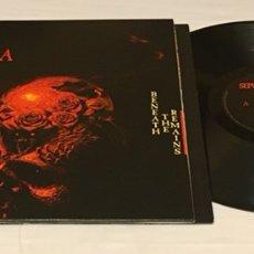Discos de vinilo: SEPULTURA - BENEATH THE REMAINS LP, REEDICIÓN, 2007, ALEMANIA, OPORTUNIDAD!!!. Lote 156013330