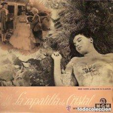 Discos de vinilo: DAVID ROSE Y SU ORQUESTA - LA ZAPATILLA DE CRISTAL - LESLIE CARON - EP MGM SPAIN. Lote 156021546