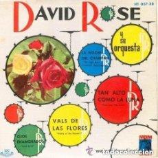 Discos de vinilo: DAVID ROSE Y SU ORQUESTA - LA NOCHE DEL CHAMPÁN + 3 TEMAS - EP, MGM-HISPAVOX 1961. Lote 156022362