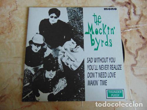 THE MOCKIN' BYRDS – SAD WITHOUT YOU + 3 EP 1994 (Música - Discos de Vinilo - EPs - Grupos Españoles de los 90 a la actualidad)
