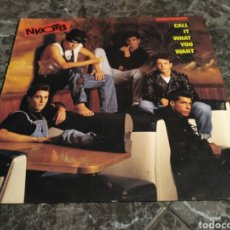 Discos de vinilo: NEW KIDS ON THE BLOCK - CALL IT WHAT YOU WANT. Lote 156026985