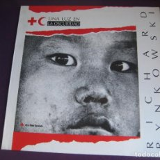 Discos de vinilo: RYSZARD RYNKOWSKI LP VADERECORD 1991 - UNA LUZ EN LA OSCURIDAD - POLONIA POP ROCK. Lote 156034398