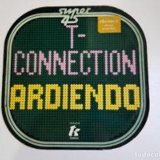 Discos de vinilo: T-CONNECTION - ARDIENDO -ON FIRE- (VINILO). Lote 156036842