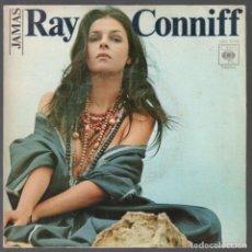 Discos de vinilo: RAY CONNIFF - JAMAS / EL PROGRESO - SINGLE 1977 RF-3755. Lote 156036846