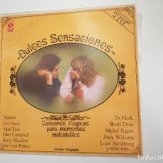 Discos de vinilo: DULCES SENSACIONES (VINILO). Lote 156037922