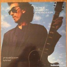 Discos de vinilo: GEORGE HARRISON (THE BEATLES) GOT MY MIND SET ON YOU MAXI ESPAÑA 1987. Lote 156040938