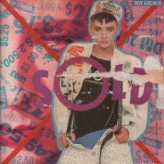 Discos de vinilo: BOY GEORGE - SOLD / I ASKED FOR LOVE.... LP VIRGIN RECORDS DE 1987 ,RF-7454. Lote 156042322