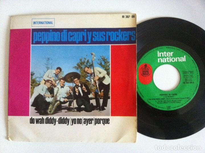 PEPPINO DI CAPRI Y SUS ROCKERS - DO WAH DIDDY DIDDY - EP 1964 - INTERNATIONAL (Música - Discos de Vinilo - EPs - Rock & Roll)
