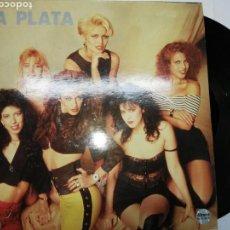 Discos de vinilo: LA PLATA, MI NOVIO TIENE BICEPS ETC - COMO NUEVO. Lote 156049446