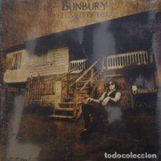 Discos de vinilo: ENRIQUE BUNBURY HEROES DEL SILENCIO - HELLVILLE DE LUXE - DOBLE LP NUEVO PRECINTADO. Lote 156051326
