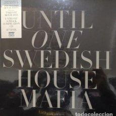 Discos de vinilo: SWEDISH HOUSE MAFIA – UNTIL ONE (BOOK EDITION) BOX LP 10 PULGADAS+ CD + DVD NTSC NUEVO PRECINTADO. Lote 156055022