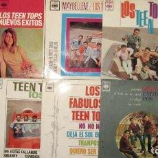 Discos de vinilo: LOTE DE 9 EP´S. 8 DE LOS TEEN TOPS Y 1 DE CHUS MARTINEZ. CBS MÉXICO. HISPAVOX MADRID. 1963. Lote 156074442