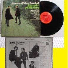 Discos de vinilo: SIMON & GARFUNKEL - SOUNDS OF SILENCE 1965 ! RARA EDC ORG USA COLUMBIA, VINILO IMPECABLE !!. Lote 209593086