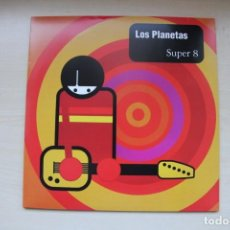 Discos de vinilo: LOS PLANETAS - SUPER 8 - REEDICION SONY/RCA 2014. Lote 156084686