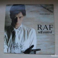 Discos de vinilo: RAF – SELF CONTROL - SPAIN 1984. Lote 156086562