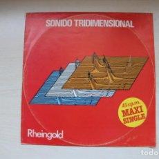 Discos de vinilo: RHEINGOLD – SONIDO TRIDIMENSIONAL - SPAIN 1982. Lote 156090510