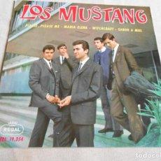 Discos de vinilo: LOS MUSTANG, EP, PLEASE PLEASE ME + 3, AÑO 1964. Lote 156095170