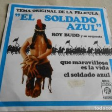 Discos de vinilo: ROY BUDD Y SU ORQUESTA, SG, EL SOLDADO AZUL + 1, AÑO 1972. Lote 156114958