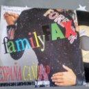 Discos de vinilo: SINGLE (VINILO) DE FAMILY FAX AÑOS 90. Lote 156115742