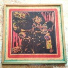 Discos de vinilo: LP MACADAN - FLY (GREYHEAD, 1997) EDICION LIMITADA Y NUMERADA 25 COPIAS EN CAJA DE MADERA!!. Lote 156128816