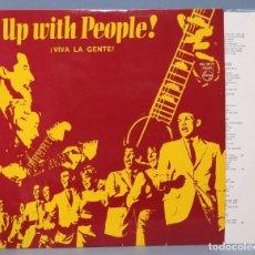 Discos de vinilo: LP. UP WITH PEOPLE. VIVA LA GENTE . Lote 156143770