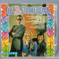 Discos de vinilo: LP. LOS 3 SUDAMERICANOS . Lote 156144254