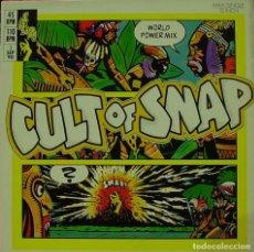 Discos de vinilo: SNAP - CULT OF SNAP MAX SINGLE 12 SPAIN 1990. Lote 156156382