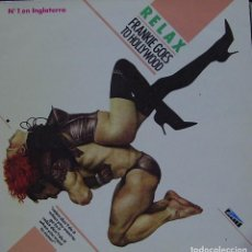 Discos de vinilo: FRANKIE GOES TO HOLLYWOOD - RELAX MAXI SINGLE 12 PULGADAS SPAIN 1984. Lote 156156446