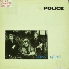 Discos de vinilo: THE POLICE - KING OF PAIN MAXI SINGLE 12 PULGADAS 1984 SPAIN. Lote 156159330