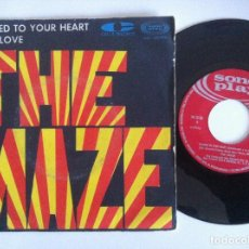 Discos de vinilo: THE MAZE - CHAINED TO YOUR HEART / I GOT LOVE - SINGLE 1968 - SONOPLAY. Lote 156173186