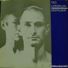 Discos de vinilo: TEO CARDALDA - DESFIGURAT / MUSICA PARA BALLET MAXI SINGLE MUY RARO SPAIN 1986 - COMPLICES. Lote 156176190