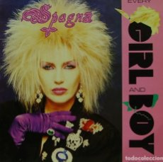 Discos de vinilo: SPAGNA - EVERY GIRL AND BOY MAXI SINGLE SPAIN 1988. Lote 156177990