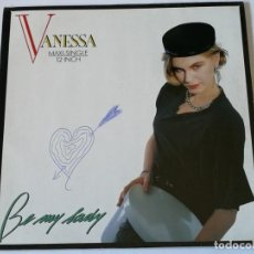 Discos de vinilo: VANESSA - BE MY LADY - 1987. Lote 187502940