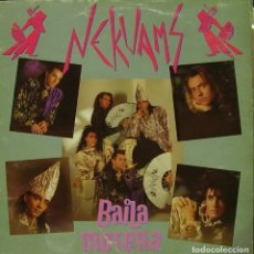 Discos de vinilo: NEKUANS - BAILA MORENA MAXI SINGLE SPAIN 1990. Lote 156179946