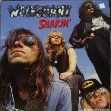 Discos de vinilo: WOLFSBANE - SHAKIN MAXI SINGLE UK 1989. Lote 156181686