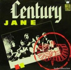 Discos de vinilo: CENTURY - JANE MAXI SINGLE SPAIN 1986. Lote 156181970