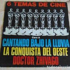Discos de vinilo: 6 TEMAS DE CINE - EP. Lote 156211058